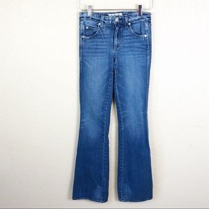 AMO | Women's Kick Jeans in Mariner Wash Size 24